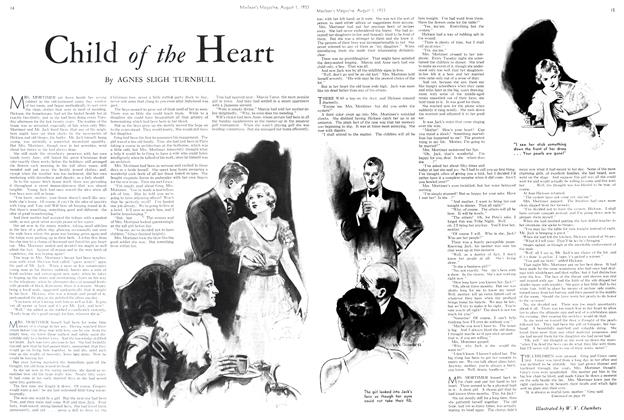 Article Preview: Child of the Heart, August 1st 1933 1933 | Maclean's