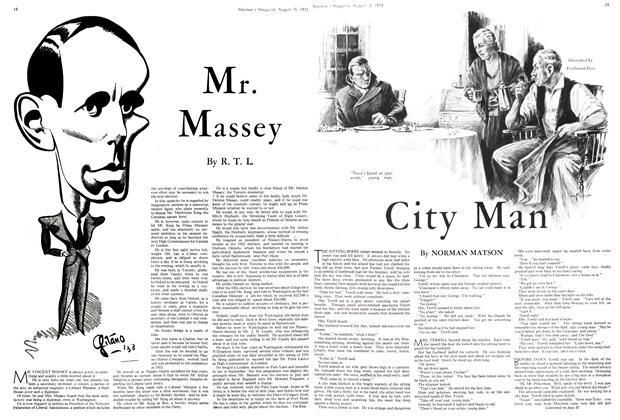 Article Preview: City Man, August 15th 1933 1933 | Maclean's