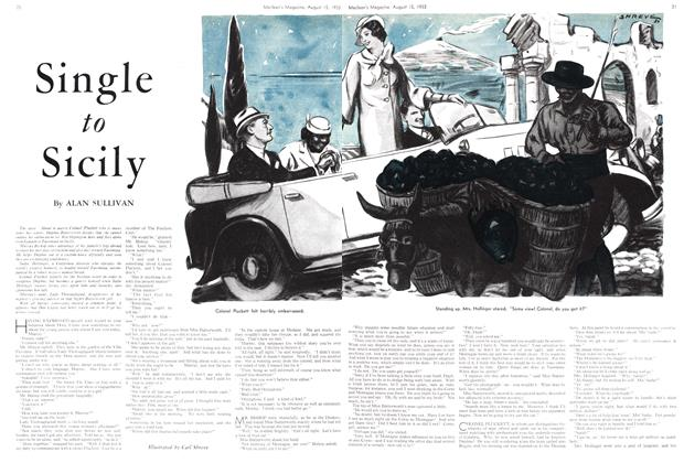 Article Preview: Single to Sicily, August 15th 1933 1933 | Maclean's
