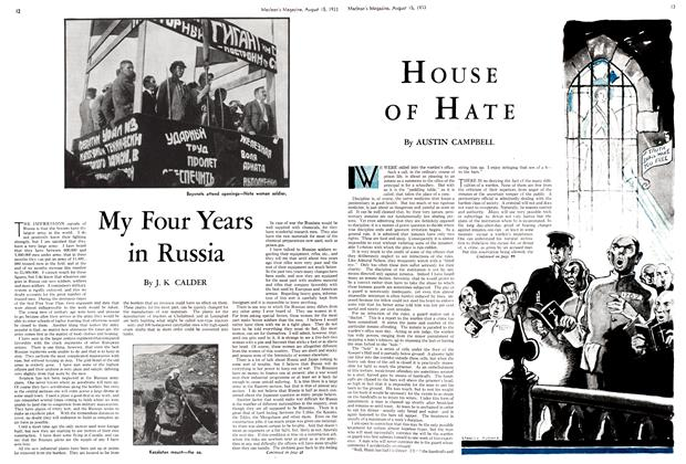 Article Preview: HOUSE OF HATE, August 15th 1933 1933 | Maclean's