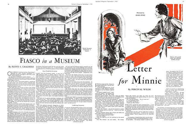 Article Preview: FIASCO in a MUSEUM, September 1933 | Maclean's