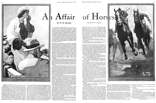 Article Preview: An Affair of Horses, September 1933 | Maclean's