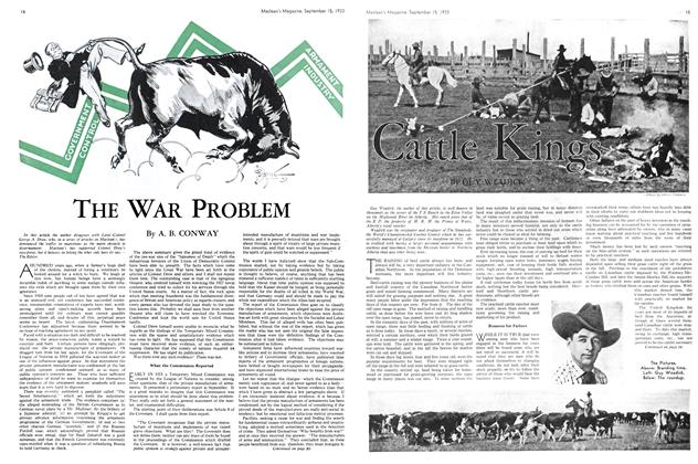 Article Preview: Cattle Kings, September 1933 | Maclean's