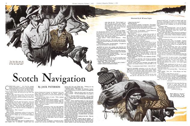 Article Preview: Scotch Navigation, October 1st 1933 1933 | Maclean's