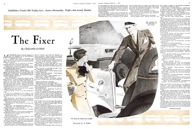 Article Preview: The Fixer, October 1st 1933 1933 | Maclean's