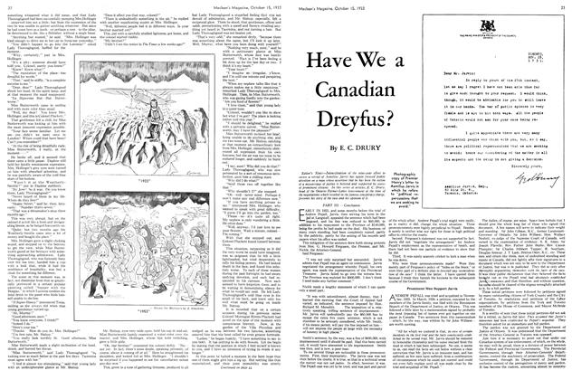 Article Preview: Have We a Canadian Dreyfus?, October 15th 1933 | Maclean's