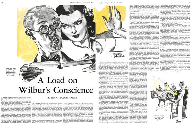 Article Preview: A Load on Wilbur's conscience, October 15th 1933 | Maclean's