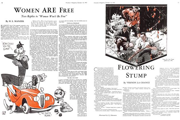 Article Preview: THE FLOWRING STUMP, October 15th 1933   Maclean's