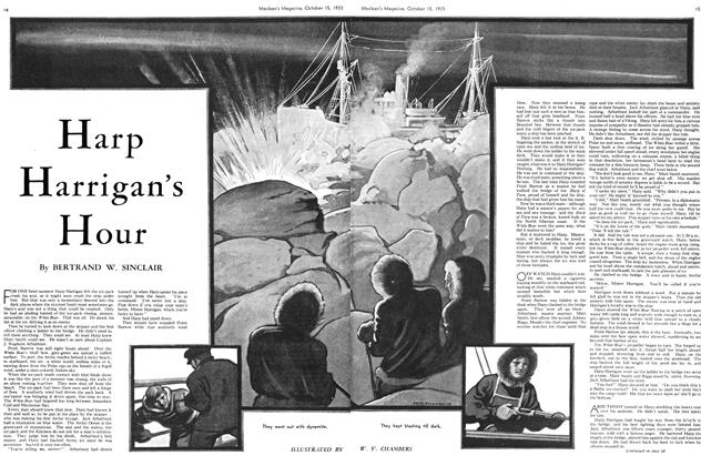 Article Preview: Harp Harrigan's Hour, October 15th 1933 | Maclean's