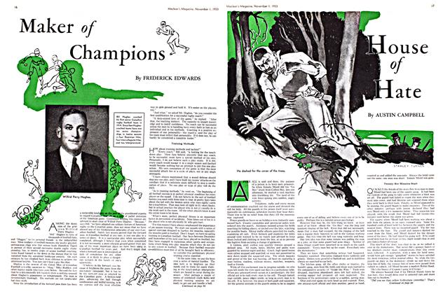 Article Preview: Maker of Champions, November 1st 1933 | Maclean's