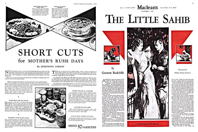 Article Preview: THE LITTLE SAHIB, November 1st 1933 | Maclean's