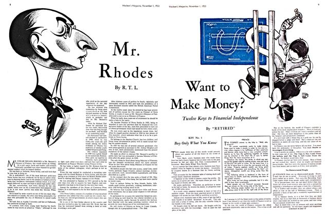 Article Preview: Mr. Rhodes, November 1st 1933 | Maclean's