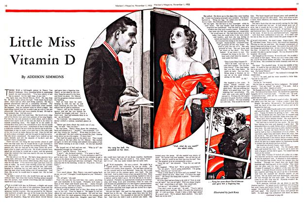Article Preview: Little Miss Vitamin D, November 1st 1933 | Maclean's