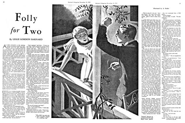 Article Preview: Folly for Two, November 1933 | Maclean's