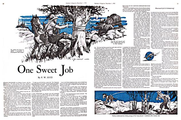 Article Preview: One Sweet Job, December 1933 | Maclean's