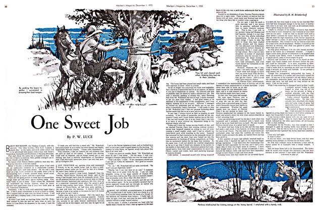 Article Preview: One Sweet Job, December 1933 | Maclean's
