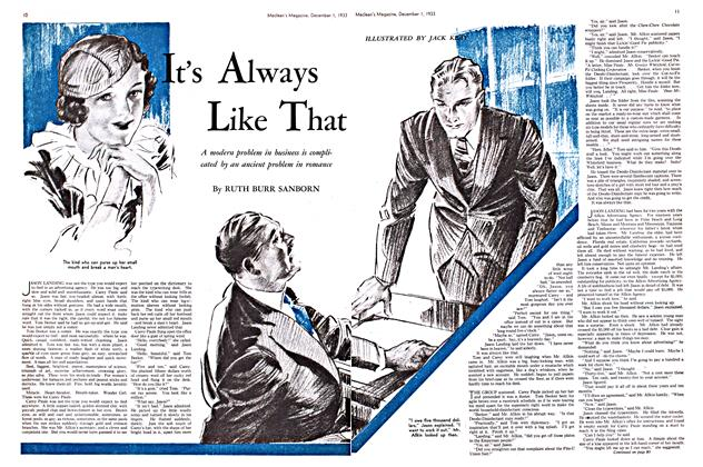 Article Preview: It's Always Like That, December 1933 | Maclean's