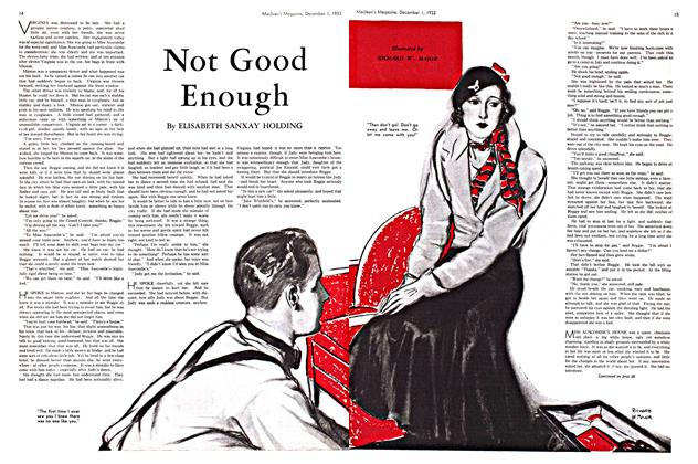 Article Preview: Not Good Enough, December 1933 | Maclean's
