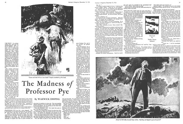 Article Preview: The Madness of Professor Pye, December 1933 | Maclean's