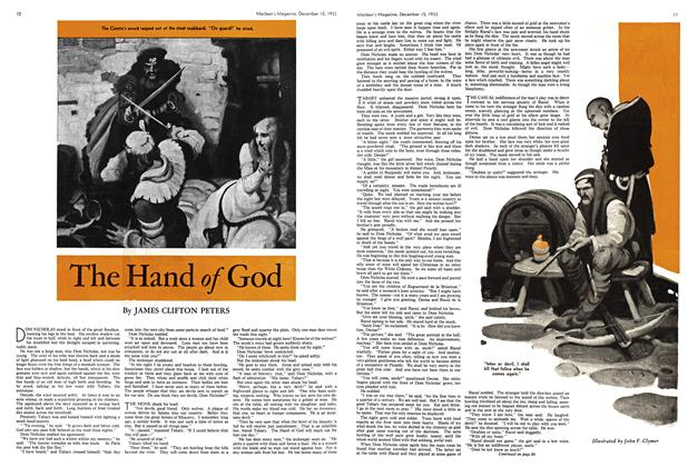 Article Preview: The Hand of God, December 1933 | Maclean's