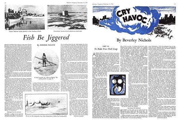 Article Preview: CAR HAVOC!, December 1933 | Maclean's