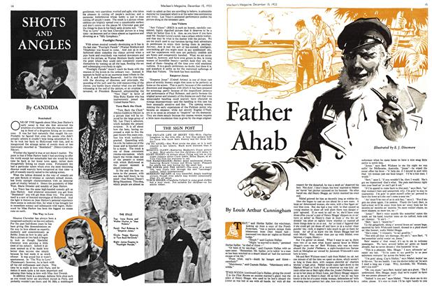 Article Preview: Father Ahab, December 1933 | Maclean's