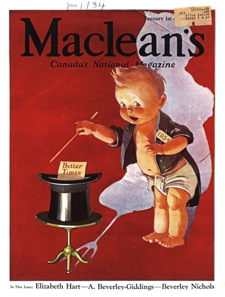 Issue: - January 1934 | Maclean's