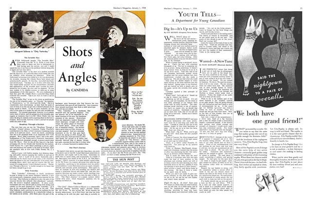 Article Preview: Shots and Angles, January 1934 | Maclean's