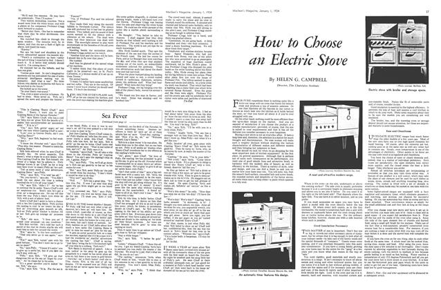 Article Preview: How to Choose an Electric Stove, January 1934 | Maclean's