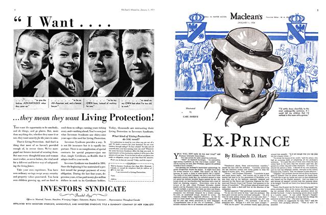 Article Preview: EX-PRINCE, January 1934 | Maclean's