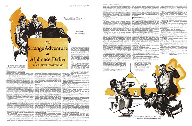 Article Preview: The Strange Adventure of Alphonse Didier, January 1934 | Maclean's