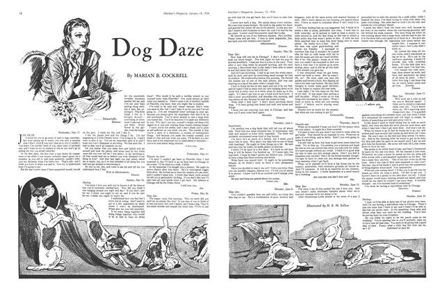 Article Preview: Dog Daze, January 1934 | Maclean's