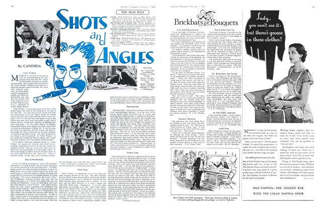 Article Preview: SHOTS and ANGLES, February 1934 | Maclean's
