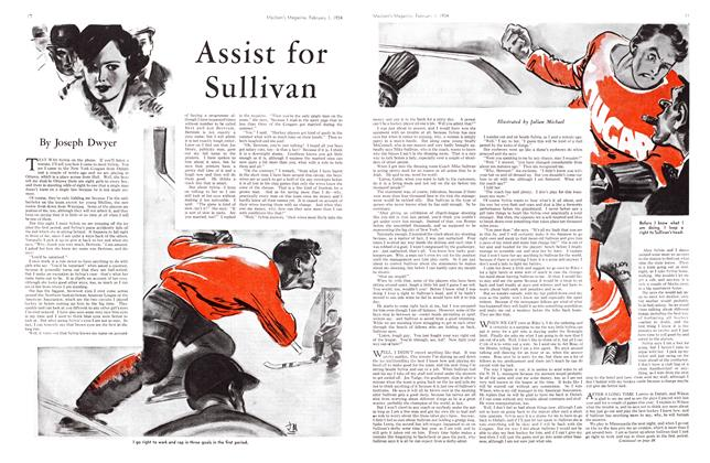 Article Preview: Assist for Sullivan, February 1934 | Maclean's