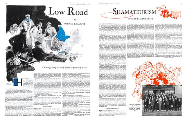 Article Preview: SHAMATEURISM, February 1934 | Maclean's