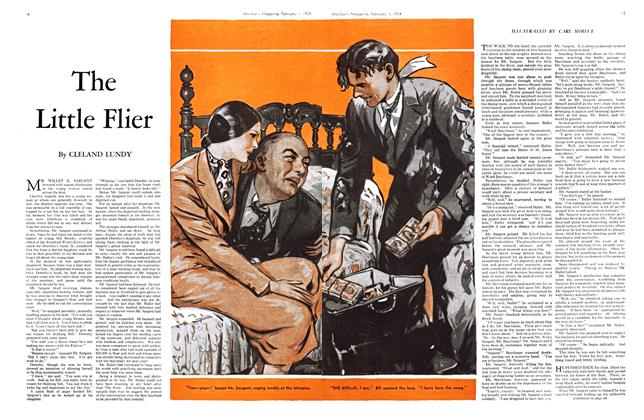 Article Preview: The Little Flier, February 1934 | Maclean's