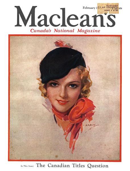 Issue: - February 1934 | Maclean's