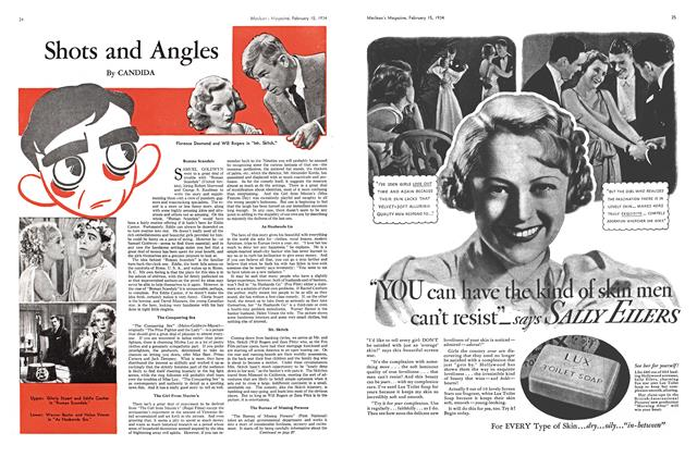 Article Preview: Shots and Angels, February 1934 | Maclean's