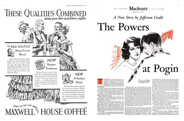 Article Preview: The powers at Pogin, February 1934 | Maclean's