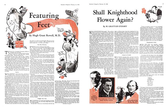 Article Preview: Featuring Feet, February 1934 | Maclean's