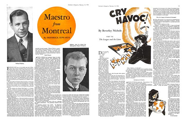 Article Preview: CRY HAVOC!, February 1934 | Maclean's
