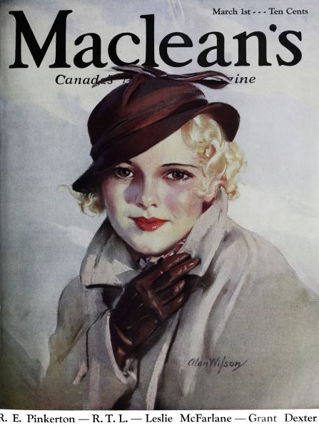 Issue: - March 1st 1934   Maclean's