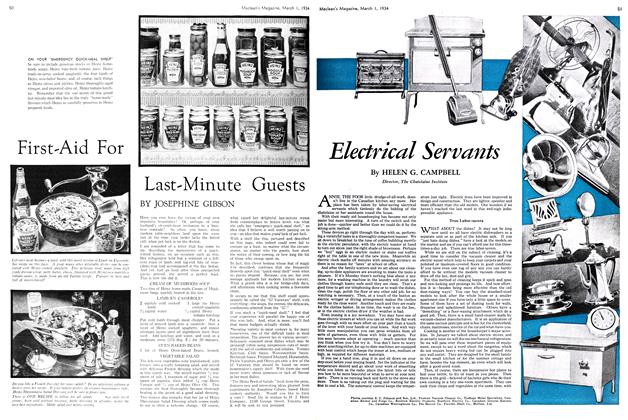 Article Preview: Electrical Servants, March 1st 1934 1934 | Maclean's