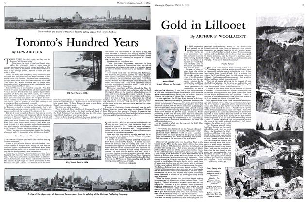 Article Preview: Gold in Lilloet, March 1st 1934 1934 | Maclean's
