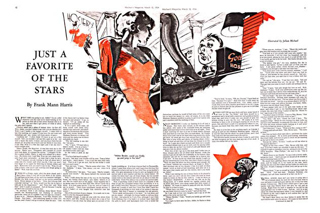 Article Preview: JUST A FAVORITE OF THE STARS, March 15th 1934 1934 | Maclean's