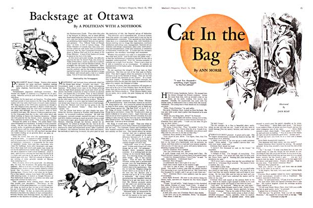 Article Preview: Cat In the Bag, March 15th 1934 1934 | Maclean's