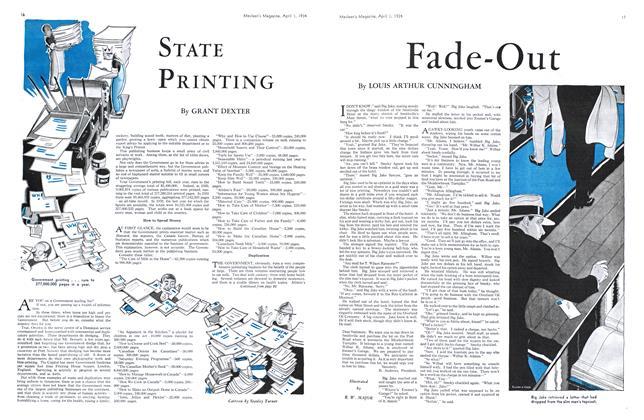Article Preview: STATE PRINTING, April 1934 | Maclean's