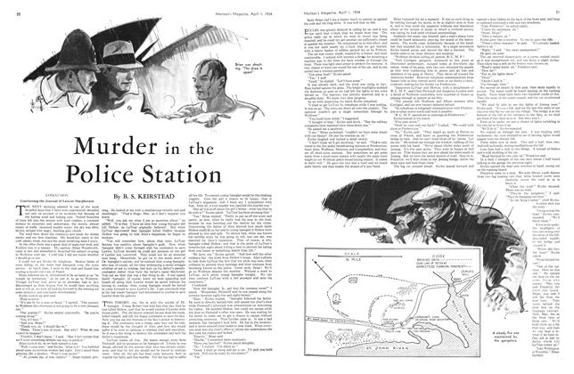 Article Preview: Murder in the Police Station, April 1934 | Maclean's