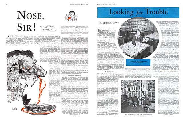 Article Preview: LOOking for Trouble, April 1934 | Maclean's