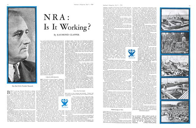 Article Preview: NRA: Is It Working?, April 1934 | Maclean's